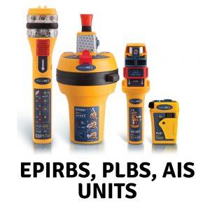EPIRBS, PLBs * AIS Units